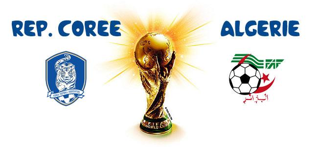 Pronostic cor e du sud alg rie coupe du monde 2014 - Algerie disqualifie coupe du monde ...