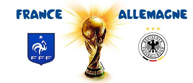 Pronostic france allemagne coupe du monde 2014 - Coupe du monde france allemagne 2014 ...